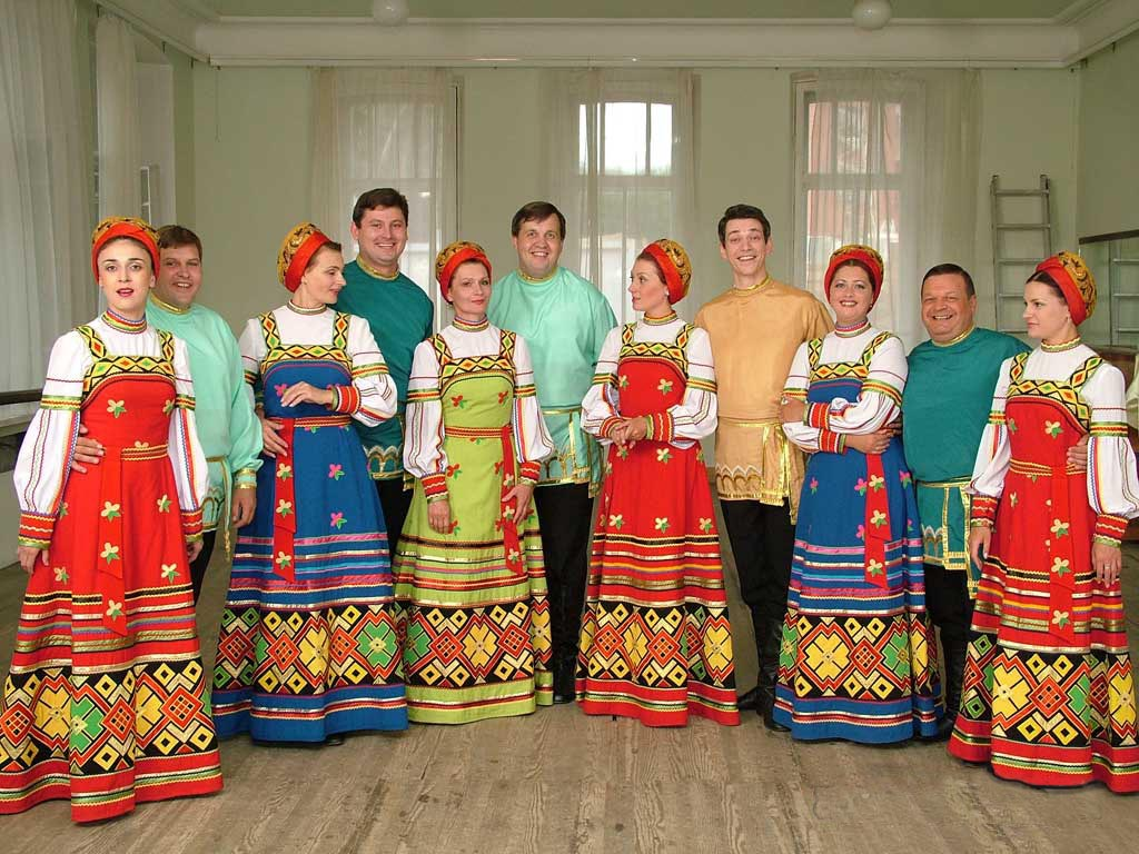 russian dance costumes were beautifully designed great detail typically the clothing for the dances was based on specific events such as holidays and would vary